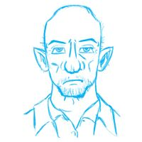 Mike Ehrmantraut by BobTheVirus