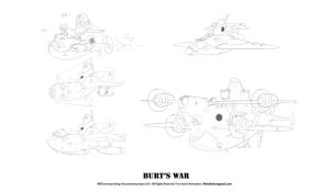 Bert'sWar Subs&Air by metalkid