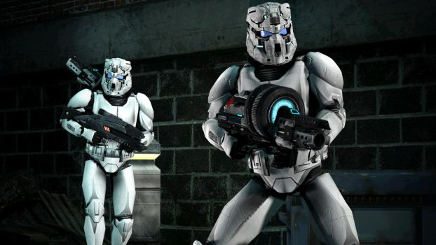New Alliance Heavy Troopers - Concept by Archangel470