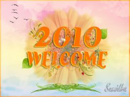 WELCOME 2010 greeting by Sumidha