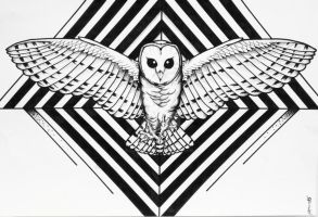 Owl Triangles by ClassicHuman