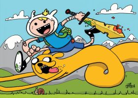 Adventure Time! by striffle