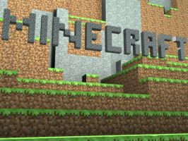 Minecraft 3DS max render by Khan-the-cake-lover