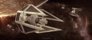 Tie Interceptors strike back by lordsme