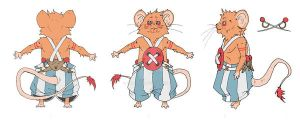 Character Design: Rodents by BAM---BAM