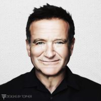 Robin Williams Tribute 2 by DesignsByTopher