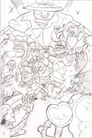 Gravity Falls - Pencils - RUSH JOB by MisterLegendary