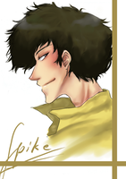 Spike Spiegel the Space Cowboy by Suobi-chan