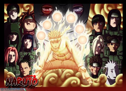 .: The War starts :.  Naruto by Amandine-f
