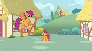 CMC Present and Future: Scootaloo by Eli-J-Brony