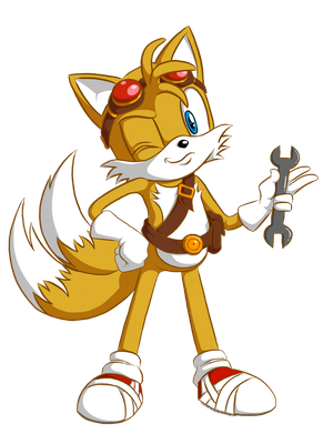 Sonic Boom Tails by CheverTheShrimp