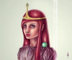 Adventure Time - Princess Bubblegum by Elindiriel