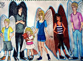 Maximum Ride : The Flock by seanfarislover