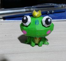 Frog Papercraft by bslirabsl
