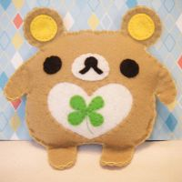 Boyd the Rilakkuma Bear by hellohappycrafts