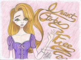 I Want To Be Free - Tangled by xlittlemissalice