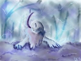 Absol by DemonFlare2343