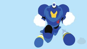Dive Man Minimalist Wallpaper by Oldhat104