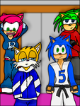 The Sonic Crew. by Lienx