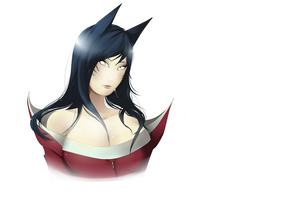 Ahri - League of Legends by PokeLyria