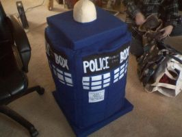 Doctor Who - TARDIS Plush by thegame2158