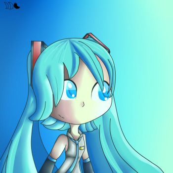 Yet another Hatsune Miku picture by DriftingDingo