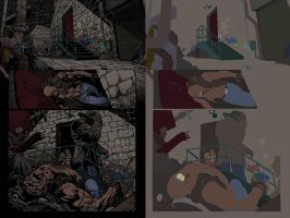 Dark Knight page flats by alexasrosa
