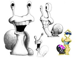 Art the Snail by 1ASP1