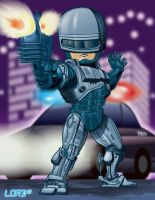 Lil Robocop by lordmesa