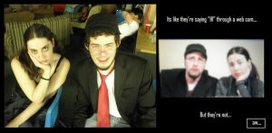 Nostalgia critic and Chick by Zinnestheyl