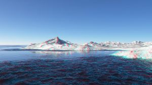 iceland 3D anaglyph by sstando
