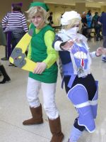 Link and Sheik 'Tokyo In Tulsa 2014' by MissLink8908