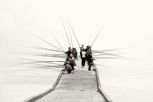 Fishermen by ixabar