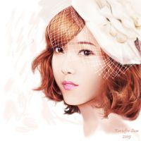 Jessica SNSD PAINTING by k3rillcker