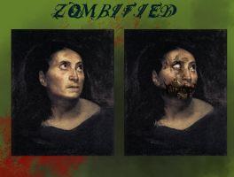 Zombified Portraite by cdrake66