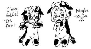 Cow Jammies by Denna