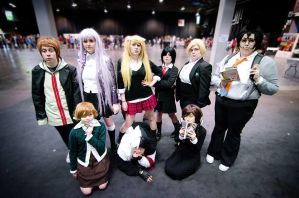 Hopes Peak Academy Students. by WitchOfHeartCosplay