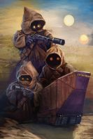 Day 5 of 13 Nights of Halloween. The Jawas by Grimbro
