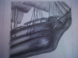 Front of a Ship by Krystian3Polish