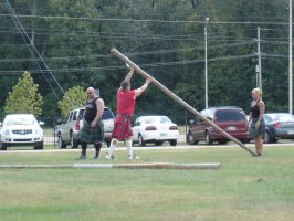 The caber toss by uturn190