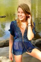 Talya - sheer blue smile 1 by wildplaces