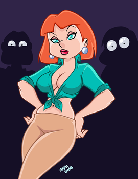 Sexy LOIS GRIFFIN by AnyaUribe