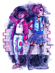 Sidney and Ray by wick-y