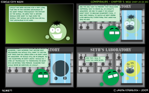 CC224: Conspiracies 24 by simpleCOMICS