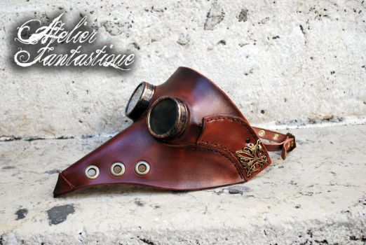 Plague Doctor steampunk mask by AtelierFantastique
