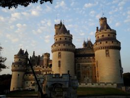 Pierrefonds Castle/Camelot 5 - September 2012 by MorgainePendragon