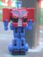 Optimus McPrime 3D II by LittleBigDave