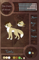 Tuketu Ref- Cheif - TcoS - Tribe of Howling Ice by MlSTY