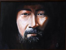 Genghis Khan as a wise man by bashibozuk