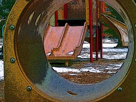 Tunnel to playland by terrestrial